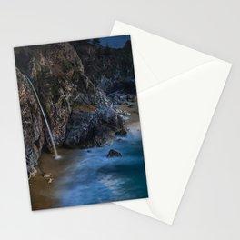 Images USA Minnehaha Falls Nature Waterfalls Moss Stones stone Stationery Cards