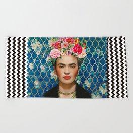 Forever Frida Beach Towel
