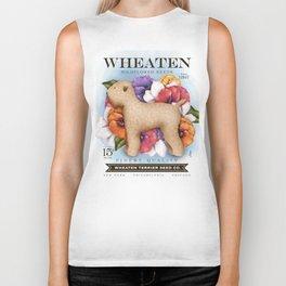 Wheaten Terrier Seed Company dog illustration by Stephen Fowler Biker Tank