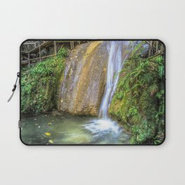 Autumn waterfall Laptop Sleeve