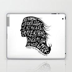 Speak Your Anger Laptop & iPad Skin