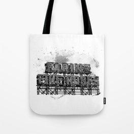 Farine Five Roses in B&W Tote Bag