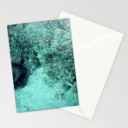 Clearly, deeply, (blue) Stationery Cards