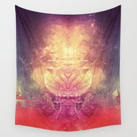 lovecraft Wall Tapestries featuring shryyn yf lyys by Spires