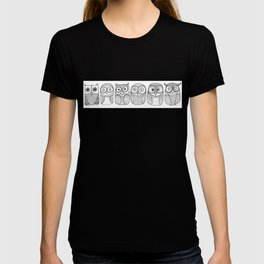 Six Pack (owl collective) T-shirt