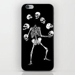 Circus of Skeleton iPhone Skin