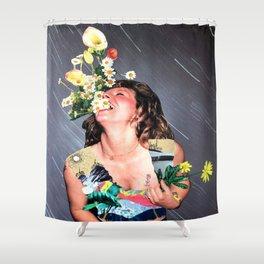 HAHAHA Shower Curtain