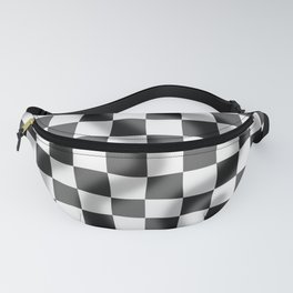 Chequered Flag Slight Ripple Fanny Pack