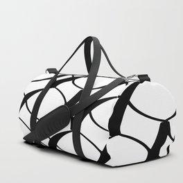 Graphic Black and White I Duffle Bag