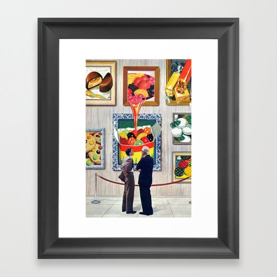 A Question of Candy Framed Art Print