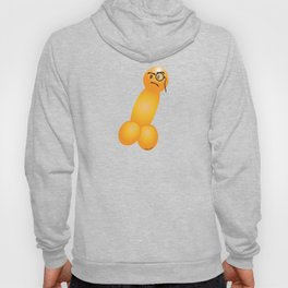 Emoji Dick Monocle Hoody