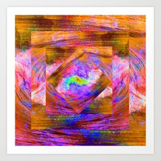 geometric design  # # # # Art Print