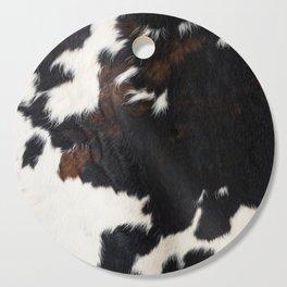 Cowhide Farmhouse Decor Cutting Board