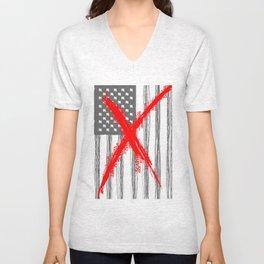 AMERICAN PANIC Unisex V-Neck