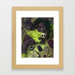 Quarantine Bae 5  Framed Art Print