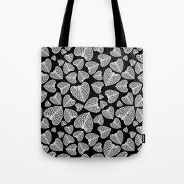 Black White Pattern Tote Bag