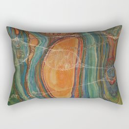 Lively Synapses (Amplified Current) Rectangular Pillow