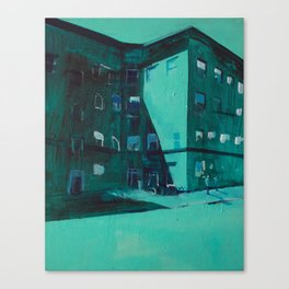 Hopper's Corner (Uptown, Minneapolis) Canvas Print
