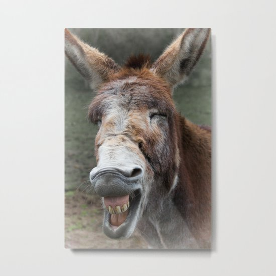 Say Cheese Metal Print