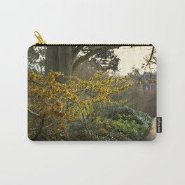 Witch Hazel in Sheffield Botanical Gardens  Carry-All Pouch