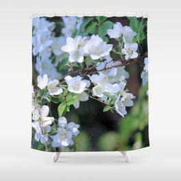 Hawthorn Wildflowers Shower Curtain