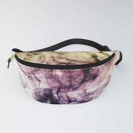 Beautiful Purple Brown Smoky Dust Fanny Pack