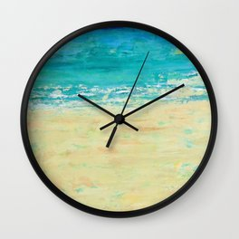 Get to the Beach! Wall Clock