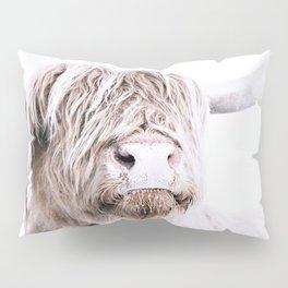 HIGHLAND CATTLE PORTRAIT Pillow Sham
