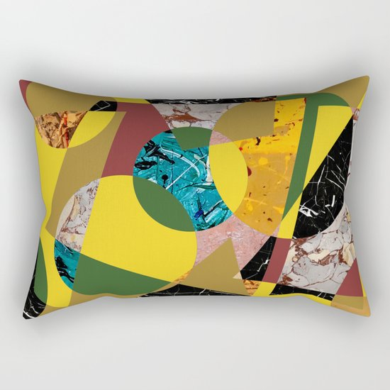 Abstract #98 Rectangular Pillow