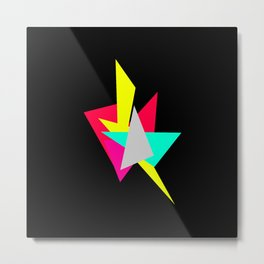 Colour Shards 02 Metal Print