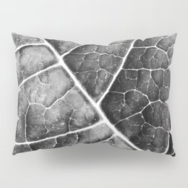 LEAF STRUCTURE no2b BLACK AND WHITE Pillow Sham