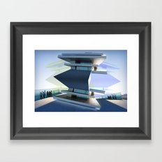 Copa de América Center, Valencia. Deconstruction Framed Art Print