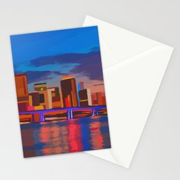 Miami Evening Stationery Cards