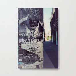 Happy New Year, Mr. Houston Metal Print
