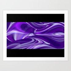 Purple Dream 15 Art Print