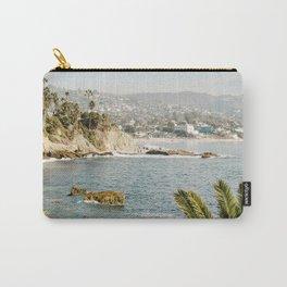 Laguna Beach Print  Carry-All Pouch