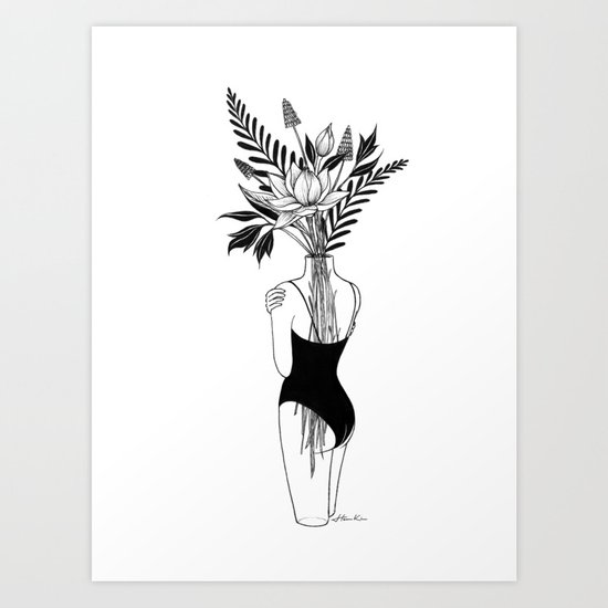 Fragile Art Print By Henn Kim Society6