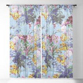 Vintage Garden XII Sheer Curtain