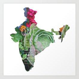 One Less  Art Print