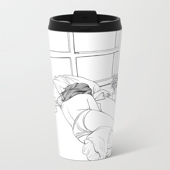 Honey I Got The Blues Metal Travel Mug