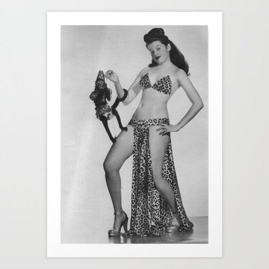 Iconic Images: Sally Lane & Fifi Art Print