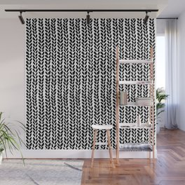 Knit Wave 2 Wall Mural