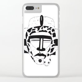 King Snake Clear iPhone Case