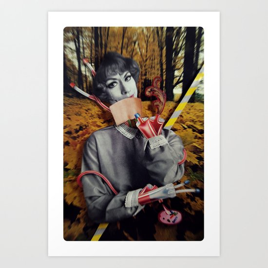 The Fall | Collage Art Print