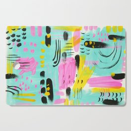 Abstract from 1980 Cutting Board