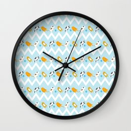 cat cat! Wall Clock