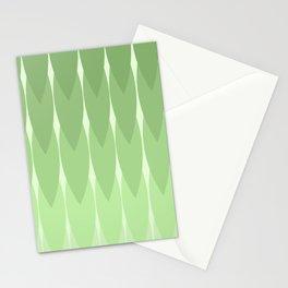 Geometric Grass Stationery Cards