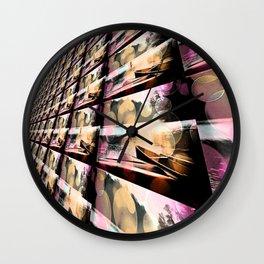 Silent Peace - Bold Wall Clock