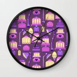 lamps pattern Wall Clock