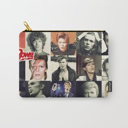 Bowie Faces Carry-All Pouch